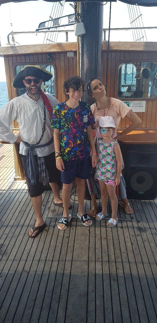 Jolly Rodger Buccaneer sea cruise.