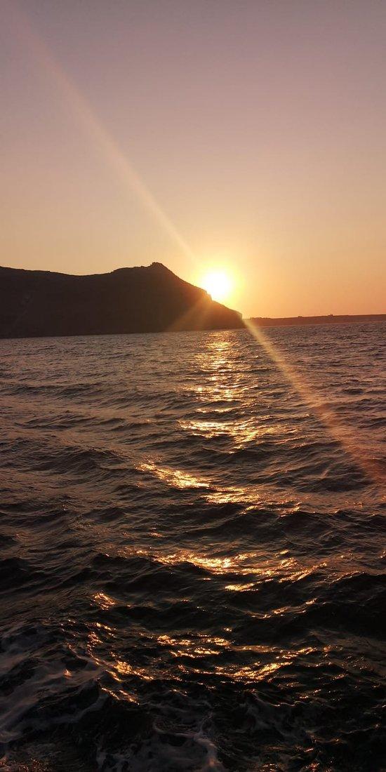 Aphroditi Santorini Sunset