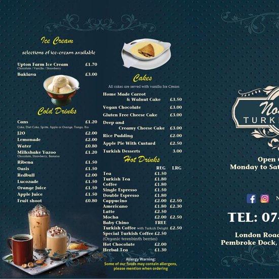 Nostalgia Turkish Cafe Pembroke Dock Restaurant Reviews