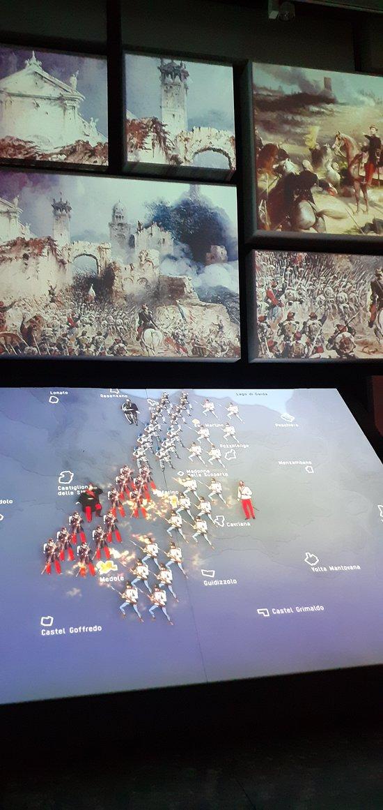 San Martino della Battaglia - il museo della battaglia