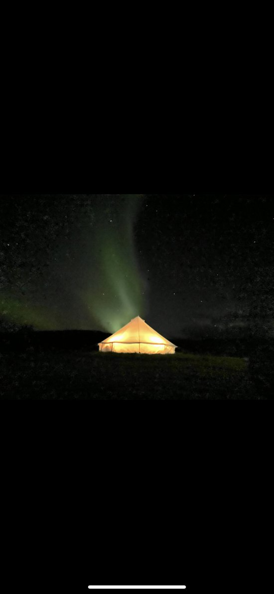 The Northen lights can be easy to find at our place.