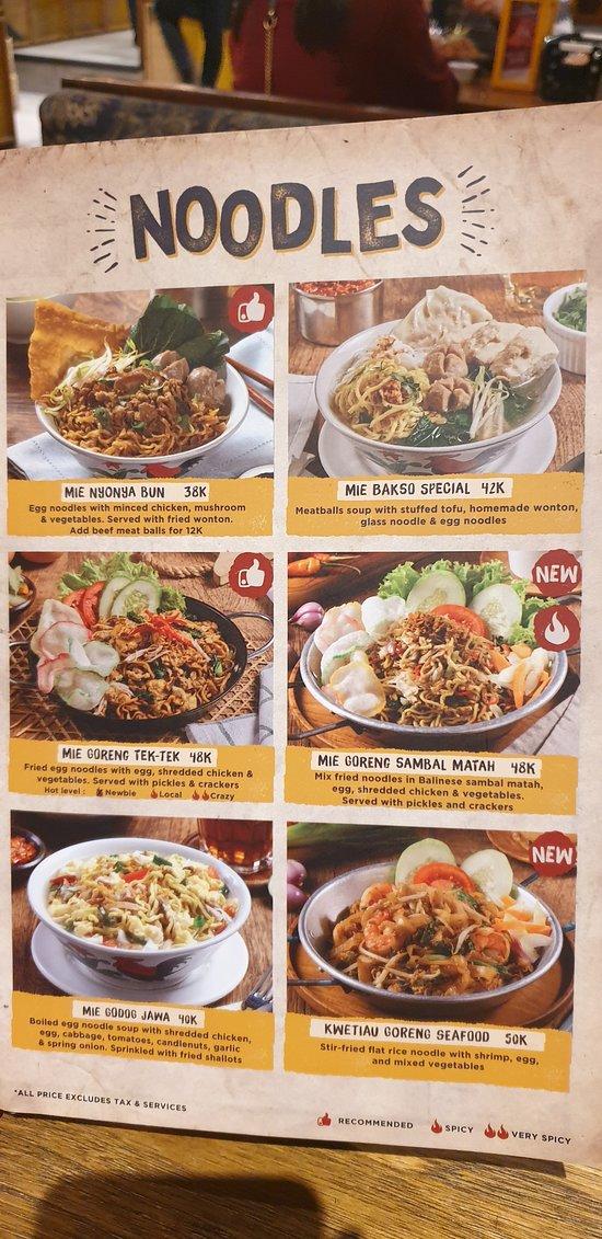 Restoran dengan makanan dan minuman autentik Indonesia banget