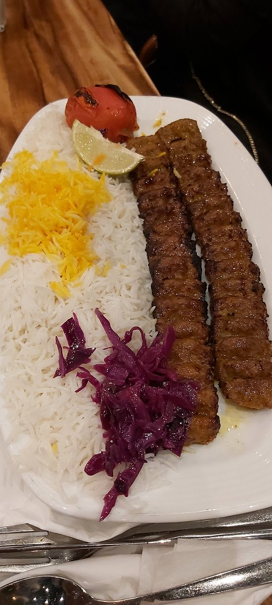 Upscale Iranian Restaurant which is a pain to find.