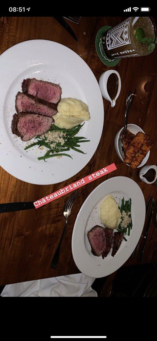 The steak 500g