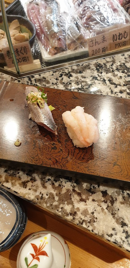 Inizio con il botto per il sushi giapponese