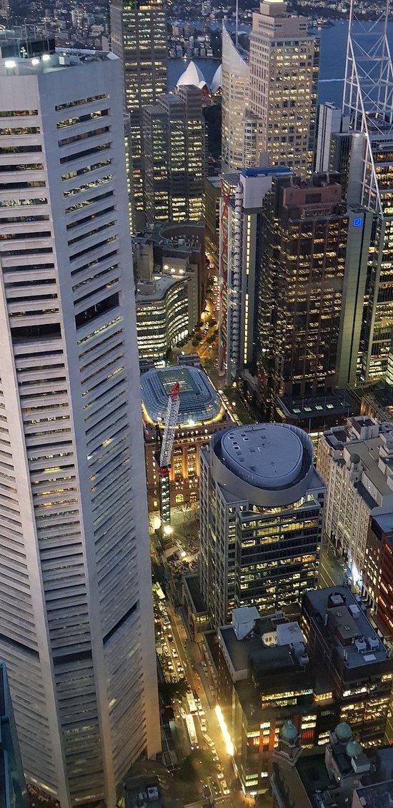 Très belle vue sur la ville