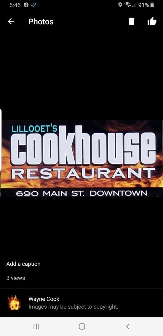 Lillooet Cookhouse Restaurant