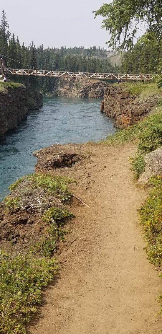 Weg am Canyon
