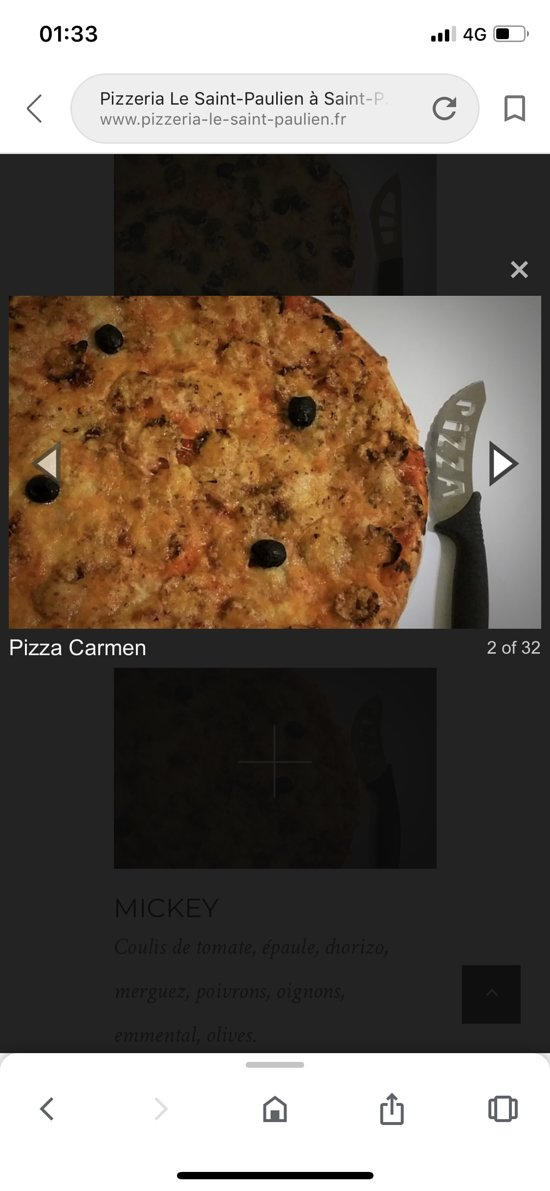 Pizza Carmen