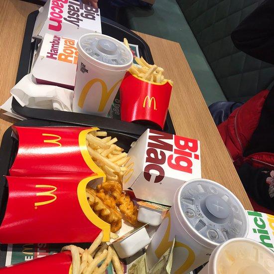 Mcdonalds frühstück sonntag