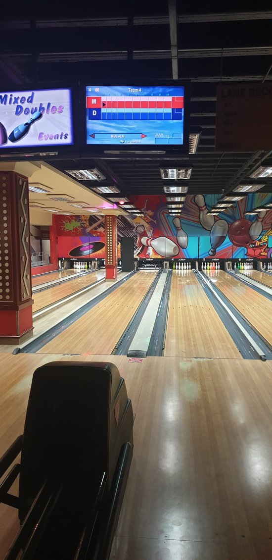 Pins Bowling Alley area for some pin bowling fun.