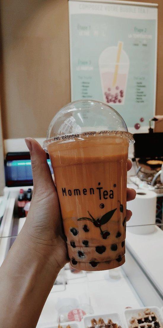 super experience pour bubble tea
