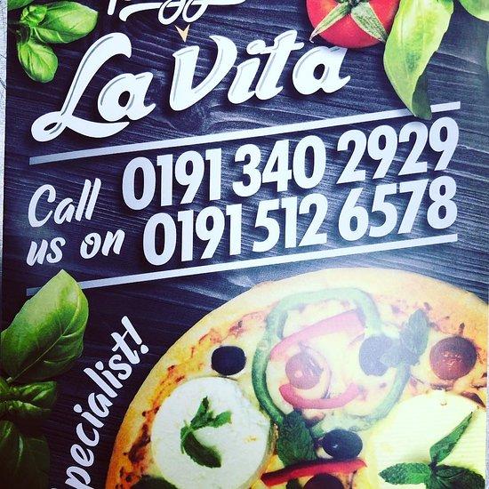 Pizza La Vita Houghton Le Spring Menu Prices