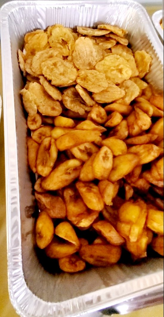 Fried and sweet plantains