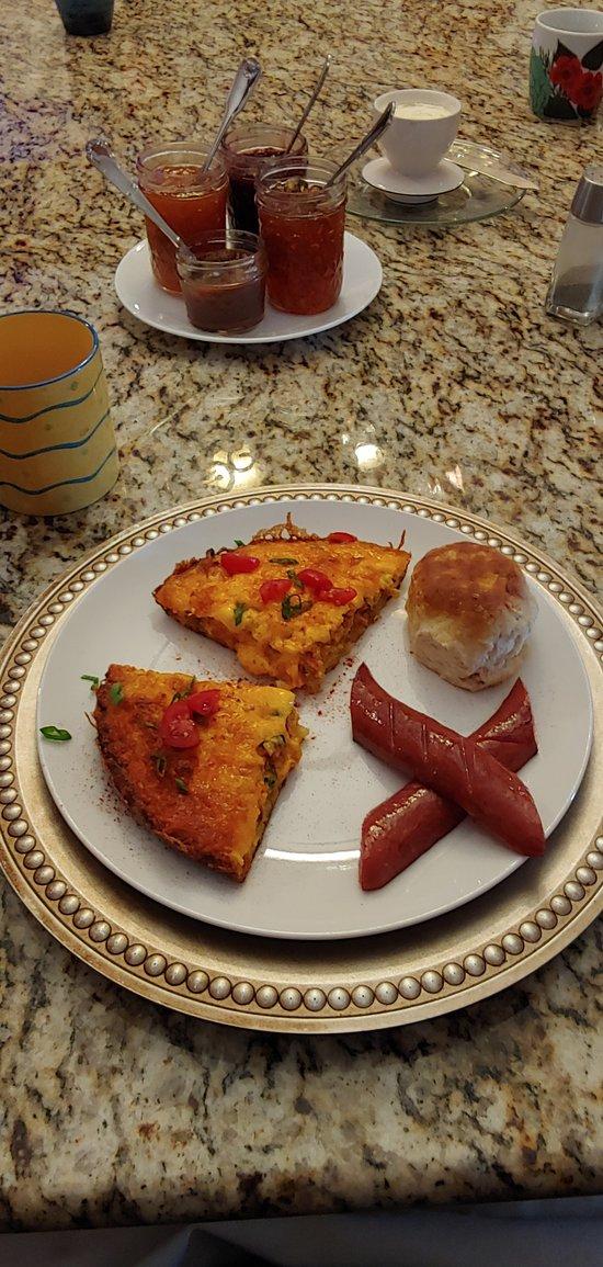 Best B&B Breakfast ever!!!