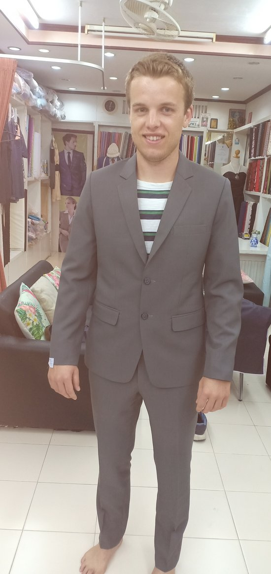 Suit Final Fitting -Shyam Tailor House Kamala - Tailored For You