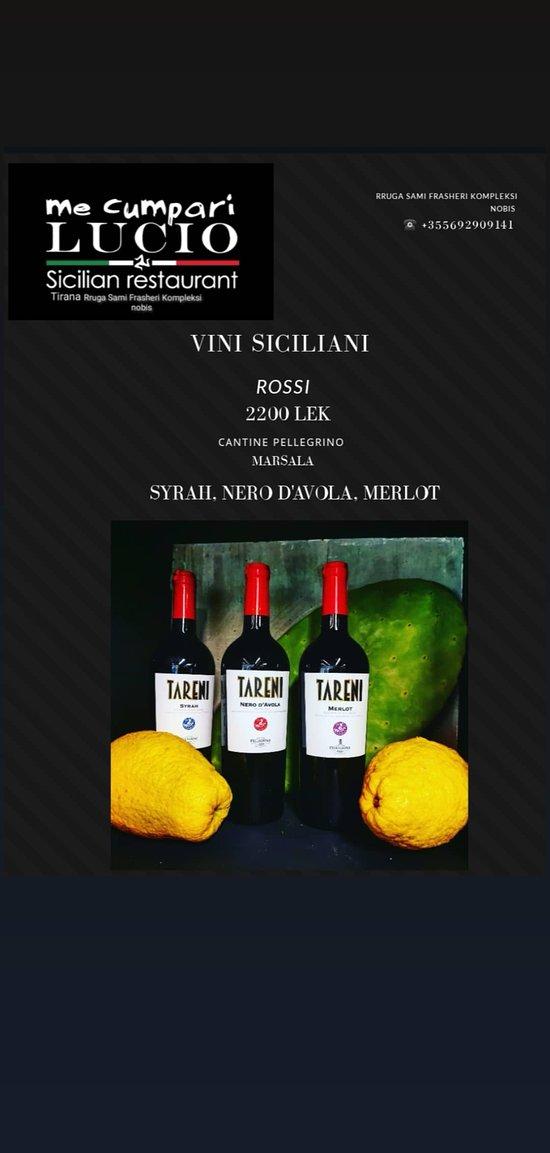 Vini Rossi Siciliani