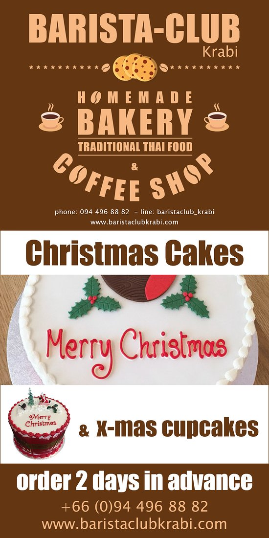 Christmas Cakes | order 2 days in advance