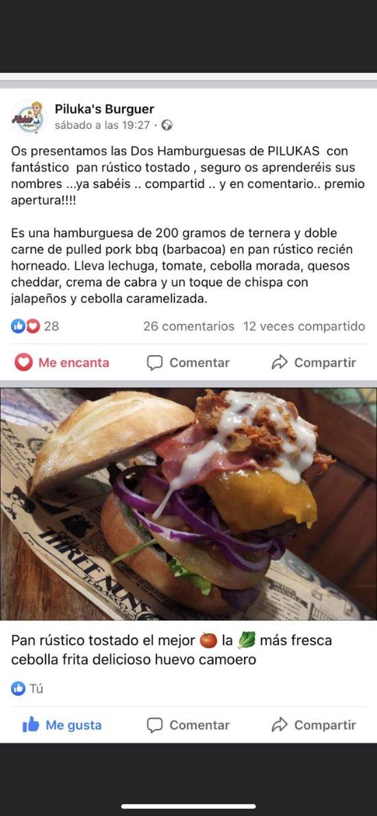Exclusiva hamburguesa.. premiada a nivel nacional!!  Seguro la harás tuya..