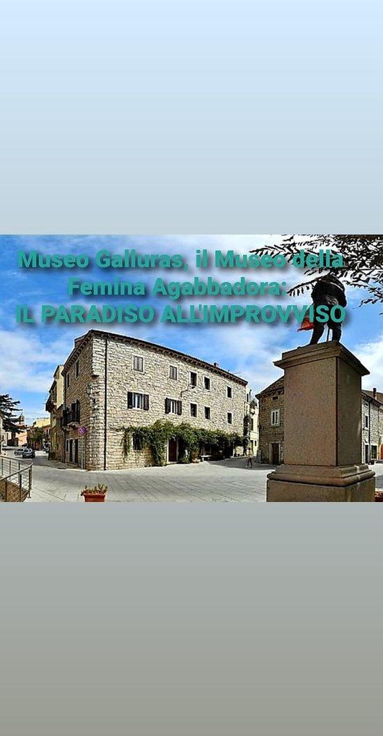 Museo Galluras il museo della femina agabbadora. Luras-Gallura- Sardegna
