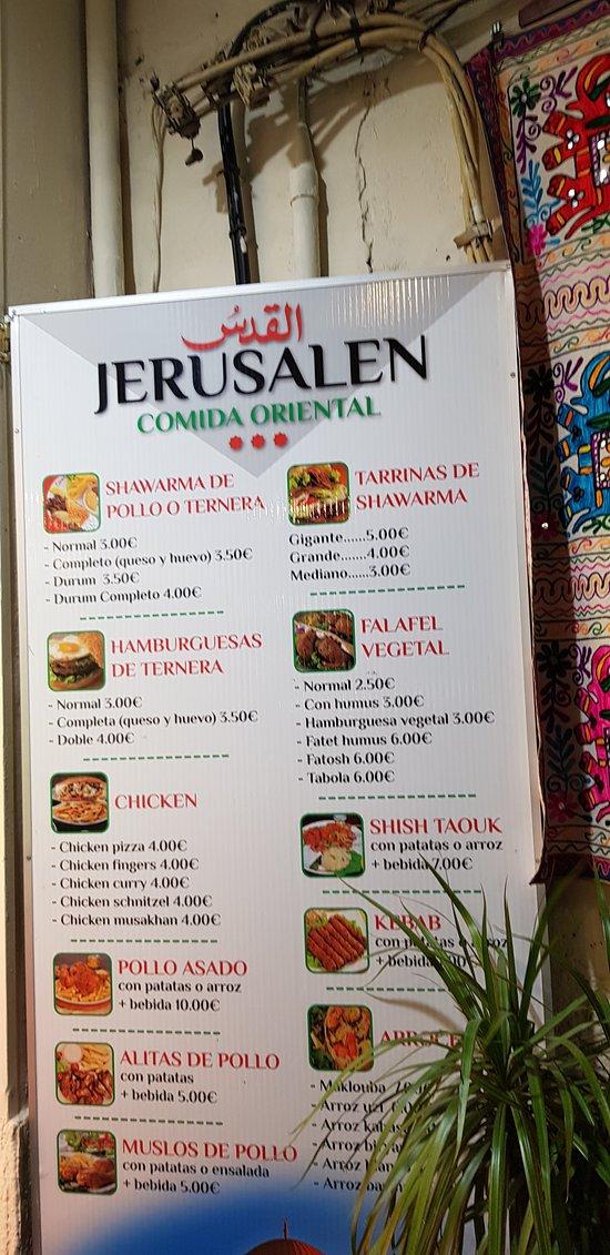 imagen Jerusalem restaurant en Granada