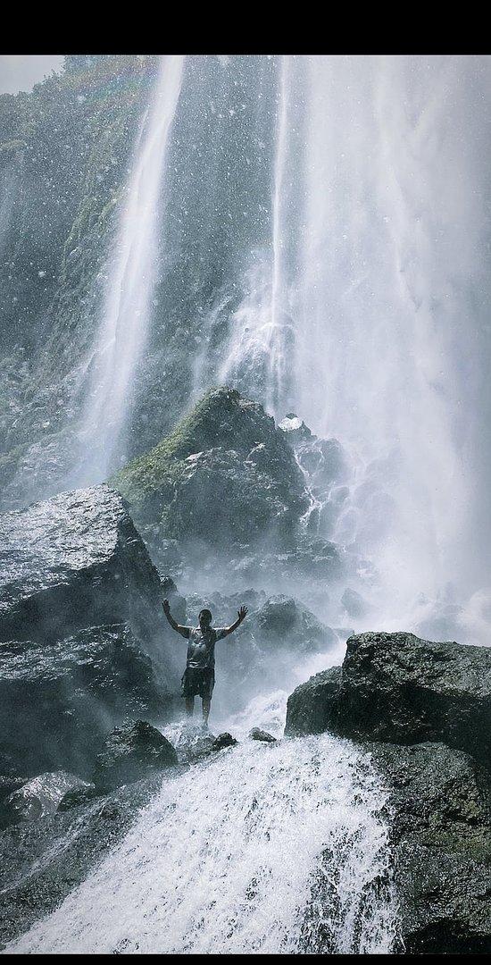 Tumpak sewu waterfall. Very nice and good. Please contact me here I am waiting you Thank you...