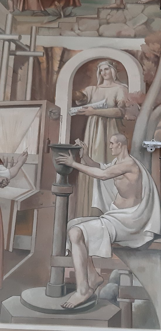 Ex Casa del Fascio -  Salone d'Onore - Affreschi - Taranto
