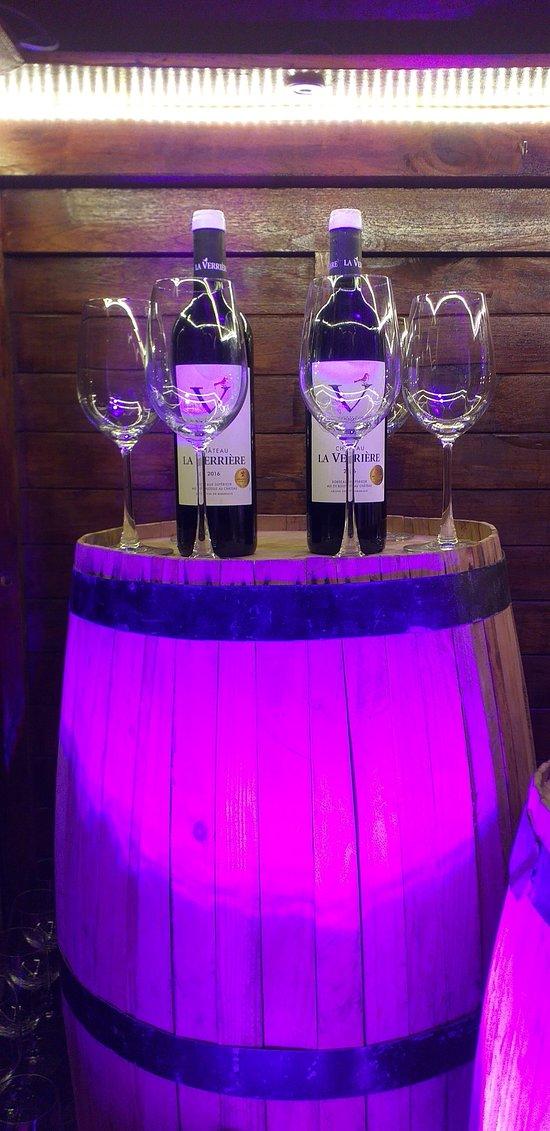 Wine setup