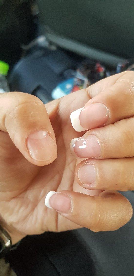 Worst manicure/fake nails EVER