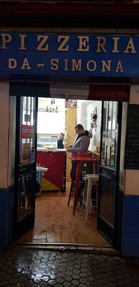 Pizza avond in Sevilla