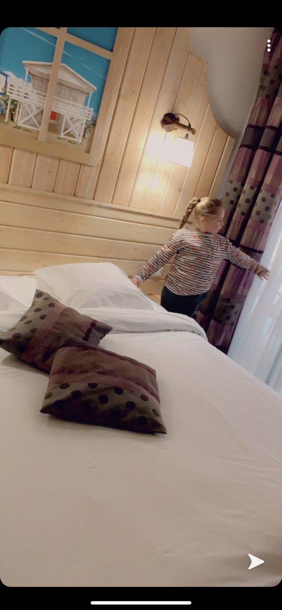 Chambre confortable et bonne literie