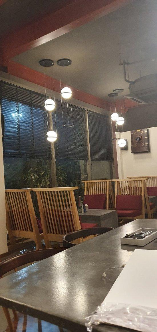 Quaint cafe inside a museum