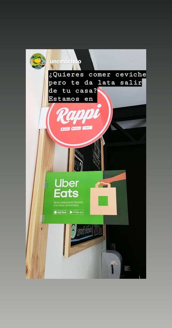 Delivery by Rappi and Ubereats