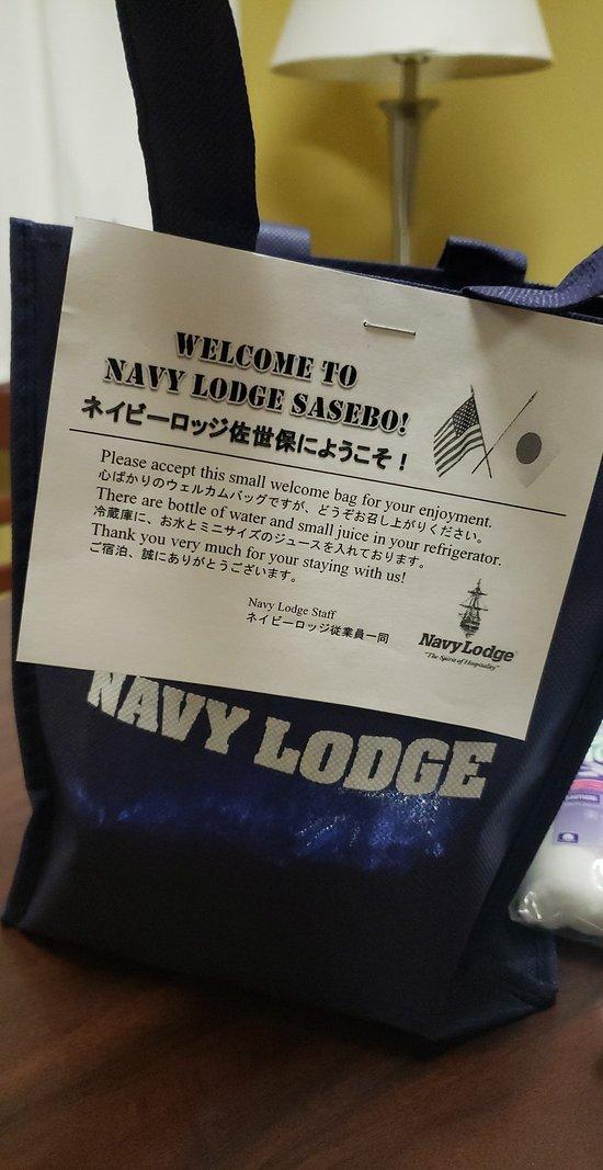 Lodge japan navy sasebo Welcome Aboard