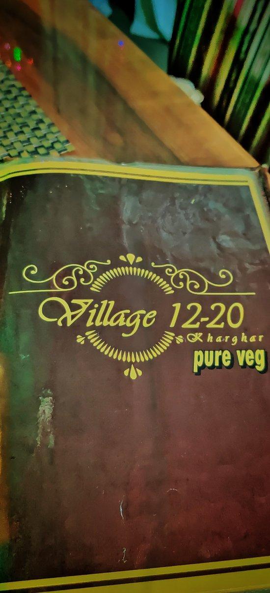 Village 12-20 Menu