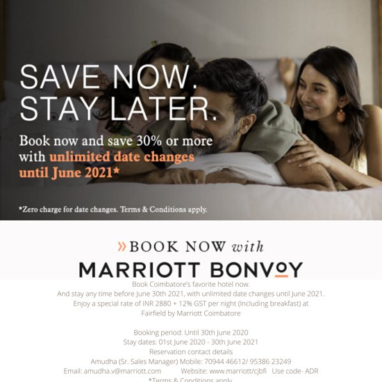 Fairfield by Marriott Coimbatore