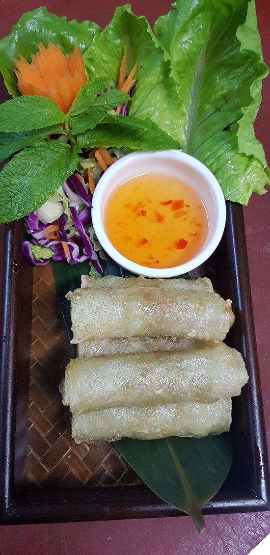 Poh Pia sin gluten: rollitos de primavera al estilo thai envueltos en pasta de arroz