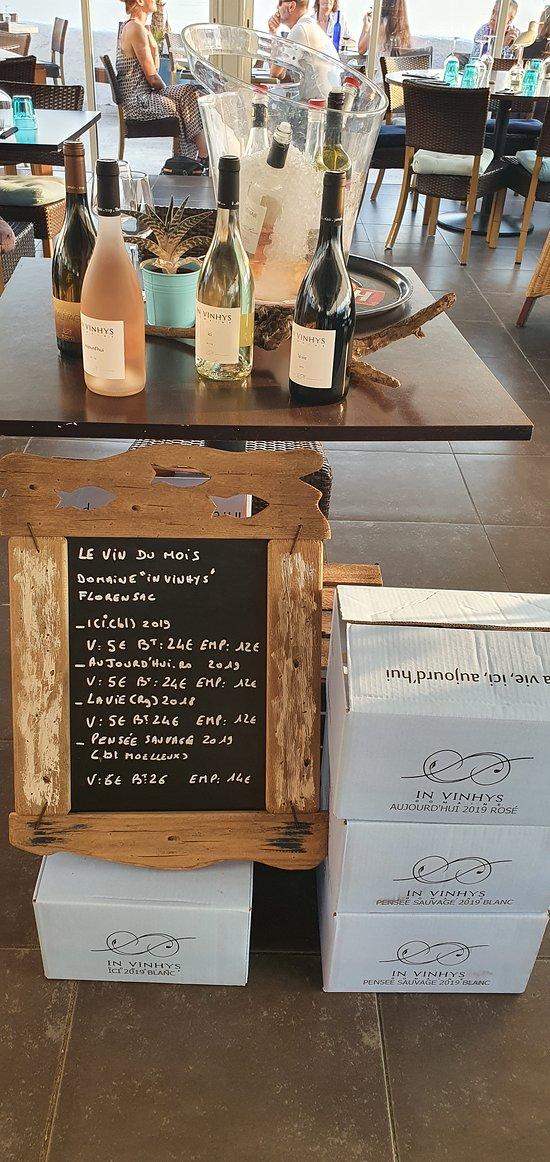 """Vin du mois """"domaine in vinhys"""" vin issu de l'agriculture biologique !!"""