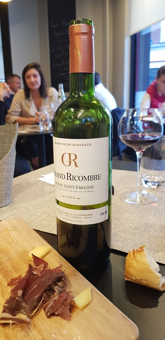 Bordeaux, very good recommandation and reasonable price