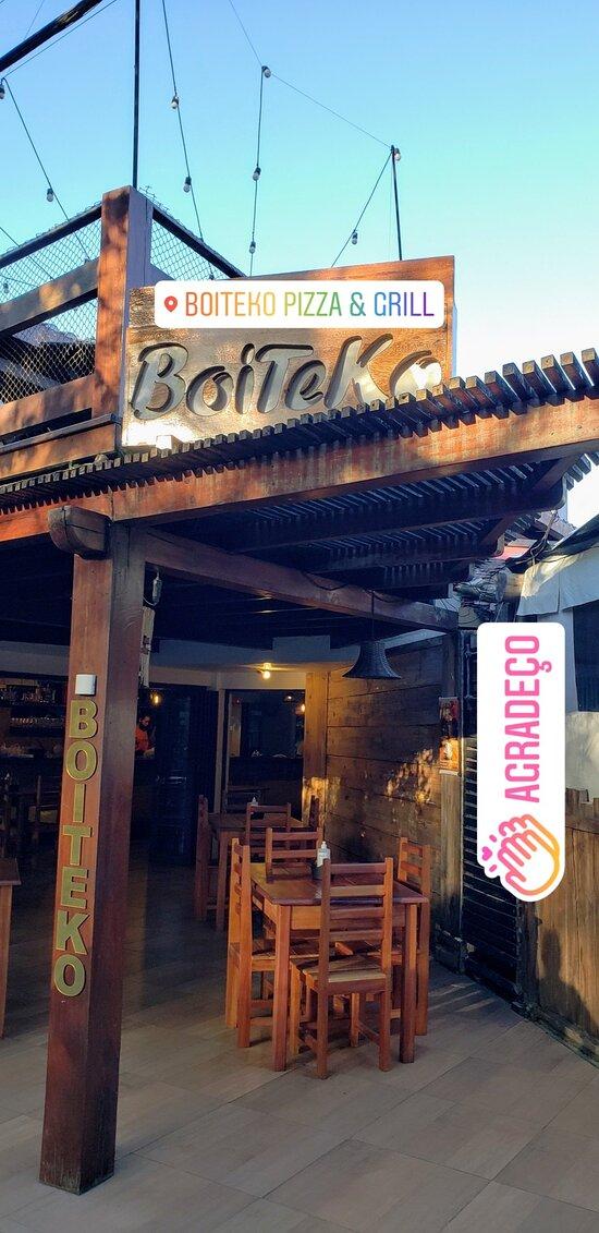 Boiteko Pizza & Grill no Beco do Jegue!