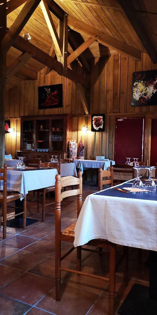 Restaurant calme