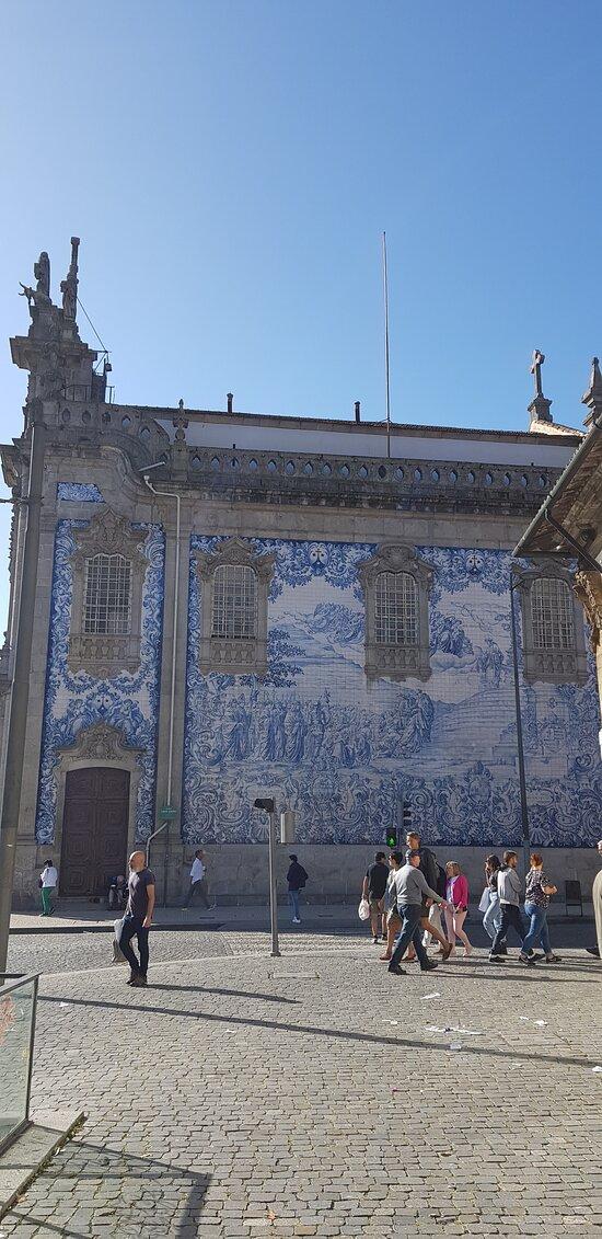 Pared lateral de la iglesia del Carmen