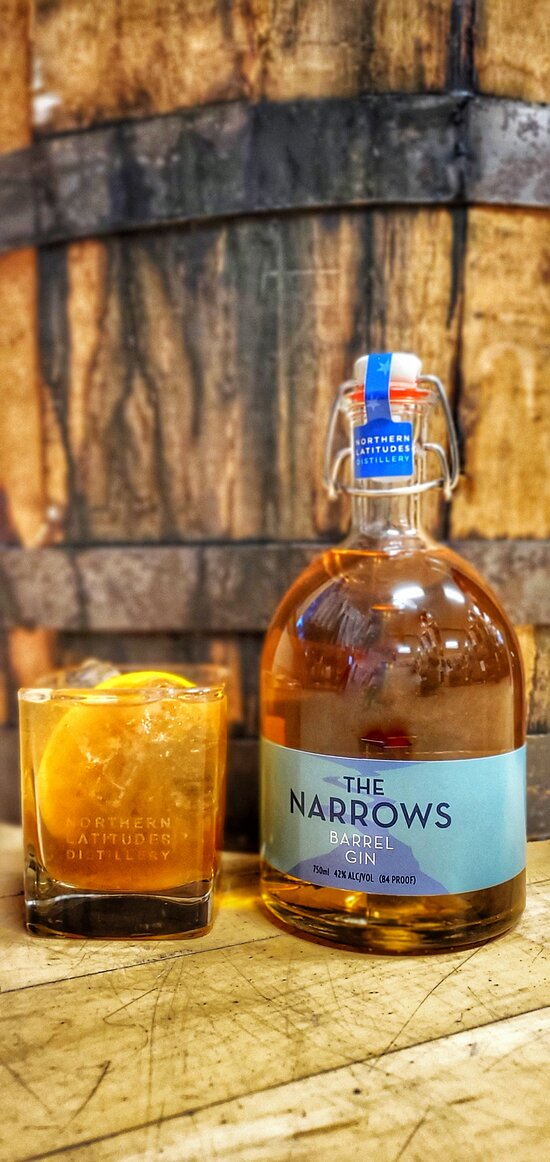 Try an Old Fashioned with The Narrows Barrel Gin