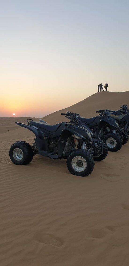 Quad bike tour Dubai