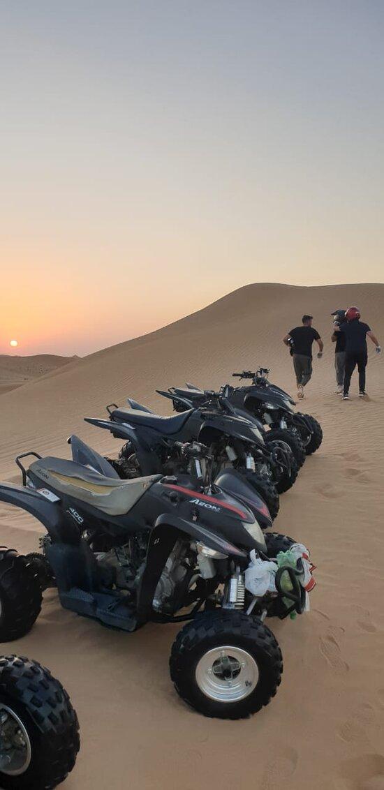 ATV safari dubai