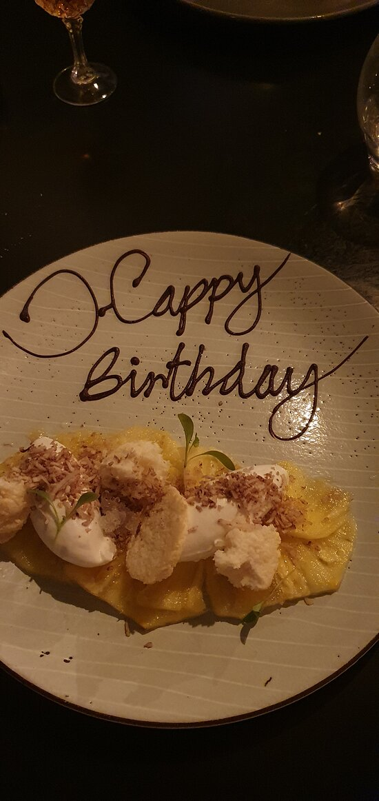 Poached Pineapple for the Birthday Boy