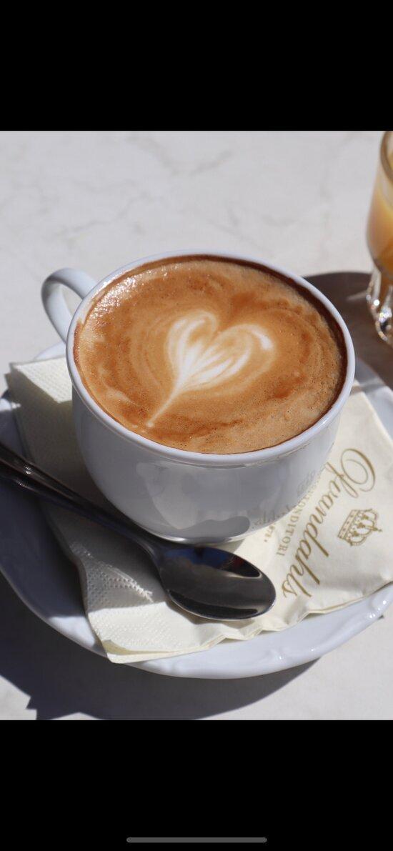 Kaffe på Ovis