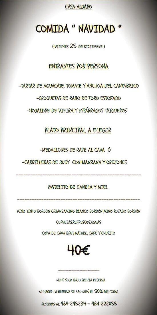 COMIDA DE NAVIDAD...