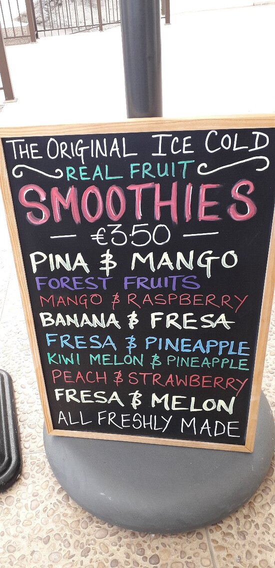 Mrs.B's Forest Fruits Smoothie