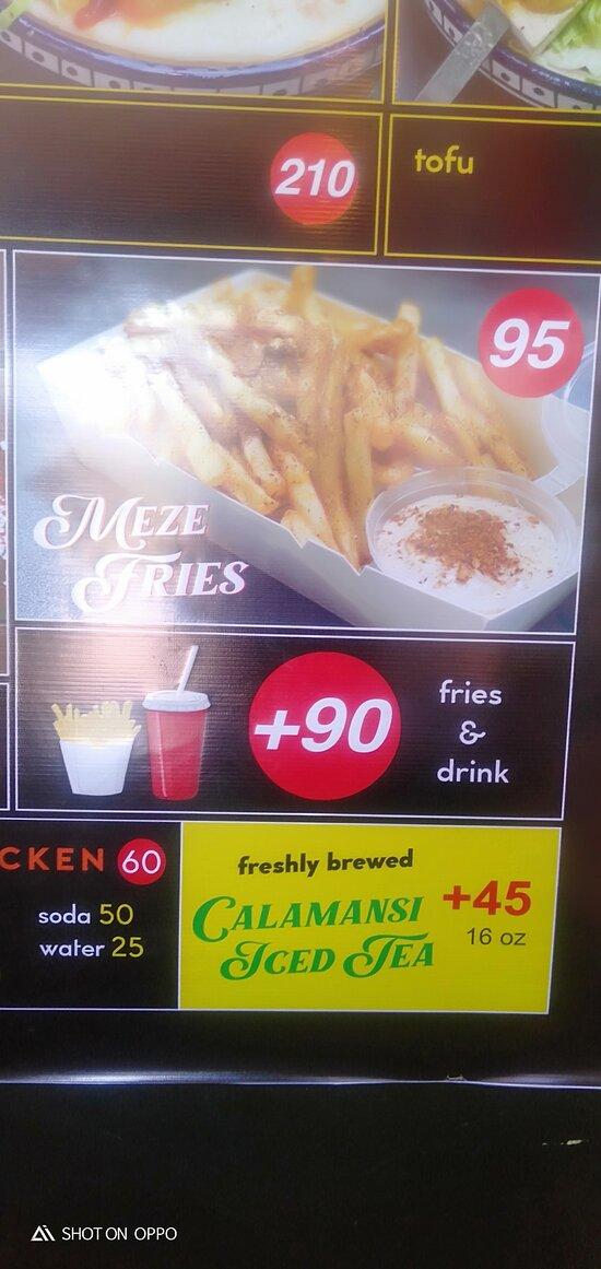 Meze fries